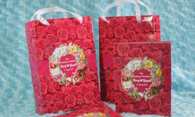 Kantong Kertas Hadiah Pernikahan