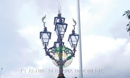 Pabrikasi Tiang Lampu Jalan Tangerang