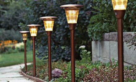 Lampu Penerangan Taman Hemat Listrik