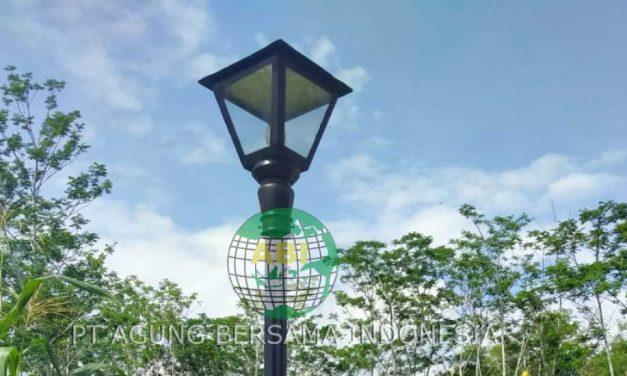 Supplier Tiang dan Lampu PJU Murah